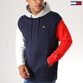 /achat-sweats-capuche/tommy-hilfiger-jeans-sweat-capuche-colorblock-classics-7259-bleu-marine-blanc-rouge-188572.html