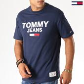 /achat-t-shirts/tommy-jeans-tee-shirt-novelty-corp-logo-7192-bleu-marine-188573.html