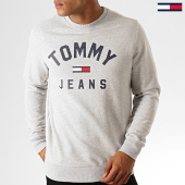 /achat-sweats-col-rond-crewneck/tommy-hilfiger-jeans-sweat-crewneck-essential-flag-7024-gris-chine-188601.html