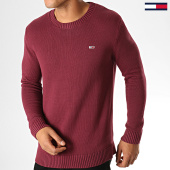 /achat-pulls/tommy-jeans-pull-classics-7191-bordeaux-188610.html