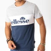 /achat-t-shirts/ellesse-tee-shirt-gustave-gris-chine-bleu-marine-188692.html