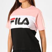 /achat-t-shirts/fila-tee-shirt-femme-allison-682125-rose-blanc-noir-188646.html