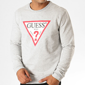 /achat-sweats-col-rond-crewneck/guess-sweat-crewneck-m94q24-k7on0-gris-chine-rouge-blanc-188826.html