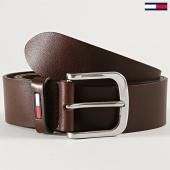 /achat-ceintures/tommy-hilfiger-jeans-ceinture-classic-flag-5142-marron-188749.html