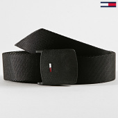 /achat-ceintures/tommy-hilfiger-jeans-ceinture-plaque-webbing-5143-noir-188754.html