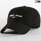 /achat-casquettes-de-baseball/tommy-hilfiger-jeans-casquette-sport-cap-5193-noir-188762.html