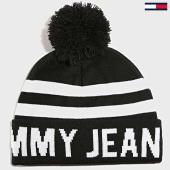 /achat-bonnets/tommy-hilfiger-jeans-bonnet-bold-logo-noir-blanc-188764.html