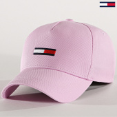 /achat-casquettes-de-baseball/tommy-hilfiger-jeans-casquette-flag-cap-5190-rose-188767.html