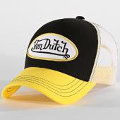 /achat-trucker/von-dutch-casquette-trucker-colour-noir-jaune-188716.html