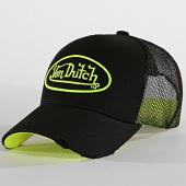 /achat-trucker/von-dutch-casquette-neo-noir-jaune-fluo-188721.html