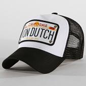 /achat-trucker/von-dutch-casquette-trucker-plaque-von-dutch-noir-blanc-188722.html