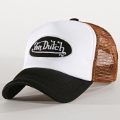 /achat-trucker/von-dutch-casquette-trucker-foam-noir-blanc-marron-188790.html