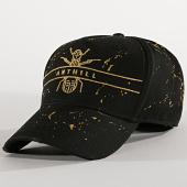 /achat-casquettes-de-baseball/anthill-casquette-logo-splatter-noir-dore-189006.html