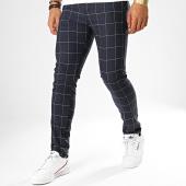 /achat-pantalons-carreaux/classic-series-pantalon-a-carreaux-m-3182-bleu-marine-blanc-188950.html