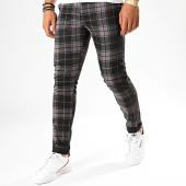 /achat-pantalons-carreaux/classic-series-pantalon-a-carreaux-m-3183-noir-gris-rouge-189015.html