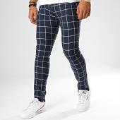 /achat-pantalons-carreaux/classic-series-pantalon-a-carreaux-m-3186-bleu-marine-blanc-gris-189019.html