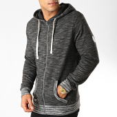 /achat-sweats-zippes-capuche/deeluxe-sweat-zippe-capuche-newstep-gris-anthracite-chine-188880.html