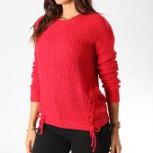 /achat-pulls/deeluxe-pull-femme-trendy-rouge-188892.html