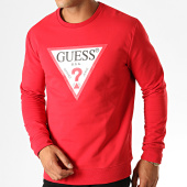 /achat-sweats-col-rond-crewneck/guess-sweat-crewneck-m94q24-k7on0-rouge-blanc-188828.html