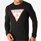 /achat-t-shirts/guess-tee-shirt-manches-longues-m94i43-j1300-noir-blanc-rouge-188832.html