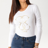 /achat-t-shirts-manches-longues/guess-tee-shirt-manches-longues-femme-w94i95-j1300-blanc-dore-188866.html