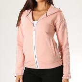 /achat-vestes/guess-veste-zippee-capuche-femme-a-bandes-o94a58-fl01h-rose-blanc-188943.html