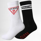 /achat-chaussettes/guess-lot-de-2-paires-de-chaussettes-u94g22-zz044-blanc-noir-188979.html