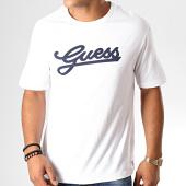 /achat-t-shirts-manches-longues/guess-tee-shirt-manches-longues-u94i06-jr03d-blanc-bleu-fonce-188981.html