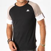 /achat-t-shirts/kappa-tee-shirt-authentic-iriami-304tdp0-noir-gris-blanc-189170.html
