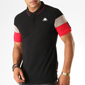 /achat-polos-manches-courtes/kappa-polo-manches-courtes-authentic-iselin-304tdu0-noir-gris-rouge-189175.html