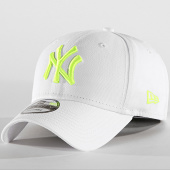 /achat-casquettes-de-baseball/new-era-casquette-9forty-league-essential-new-york-yankees-blanc-jaune-fluo-189031.html