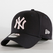 /achat-casquettes-de-baseball/new-era-casquette-9forty-league-essential-12040430-new-york-yankees-bleu-marine-rose-189137.html
