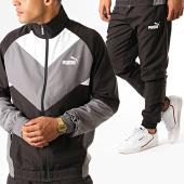 /achat-ensembles-survetement/puma-ensemble-survetement-retro-woven-580486-noir-gris-blanc-188990.html