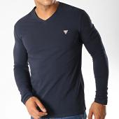 /achat-t-shirts-manches-longues/guess-tee-shirt-manches-longues-m94i35-j1300-bleu-marine-188846.html