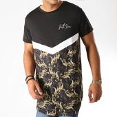 /achat-t-shirts-longs-oversize/sixth-june-tee-shirt-oversize-floral-renaissance-3880vts-noir-blanc-189132.html