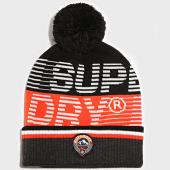 /achat-bonnets/superdry-bonnet-downhill-noir-orange-189089.html