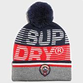 /achat-bonnets/superdry-bonnet-downhill-rouge-bleu-marine-gris-189091.html