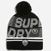 /achat-bonnets/superdry-bonnet-mono-logo-noir-189174.html