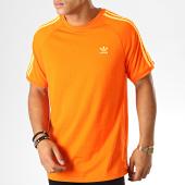 /achat-t-shirts/adidas-tee-shirt-3-stripes-ej9684-orange-blanc-189259.html