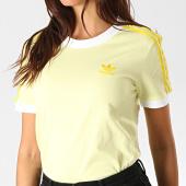 /achat-t-shirts/adidas-tee-shirt-femme-a-bandes-3-stripes-fk0477-jaune-clair-189286.html