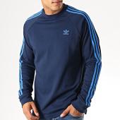 /achat-t-shirts-manches-longues/adidas-tee-shirt-manches-longues-3-stripes-ek0256-bleu-marine-bleu-roi-189291.html