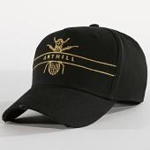 /achat-casquettes-de-baseball/anthill-casquette-logo-noir-dore-189267.html