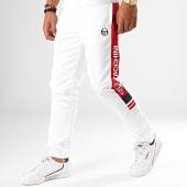 /achat-pantalons-joggings/sergio-tacchini-pantalon-jogging-a-bande-deane-blanc-189300.html