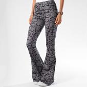 /achat-pantalons-carreaux/sixth-june-pantalon-flare-femme-serpent-3903kpa-gris-noir-189199.html