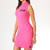 /achat-robes/sixth-june-robe-pull-col-roule-femme-3922kdr-rose-fluo-189207.html