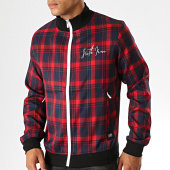 /achat-vestes/sixth-june-veste-zippee-a-carreaux-3878cja-bleu-marine-rouge-noir-189216.html