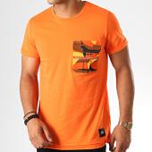 /achat-t-shirts-poche/sixth-june-tee-shirt-poche-camouflage-3886cts-orange-189218.html
