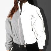 /achat-vestes/sixth-june-veste-zippee-reflechissante-femme-4014cja-gris-189253.html
