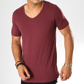/achat-t-shirts/jack-and-jones-tee-shirt-col-v-basic-bordeaux-189371.html
