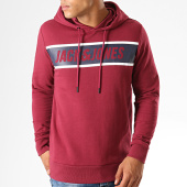 /achat-sweats-capuche/jack-and-jones-sweat-capuche-thing-bordeaux-bleu-marine-blanc-189418.html